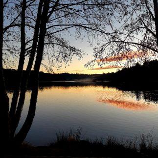 wandelen in de natuur lac d'aubusson auvergne livradois forez